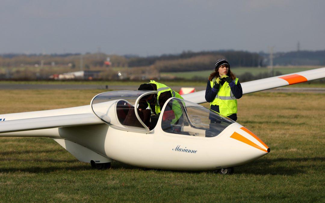 Mahault, plus jeune pilote de France